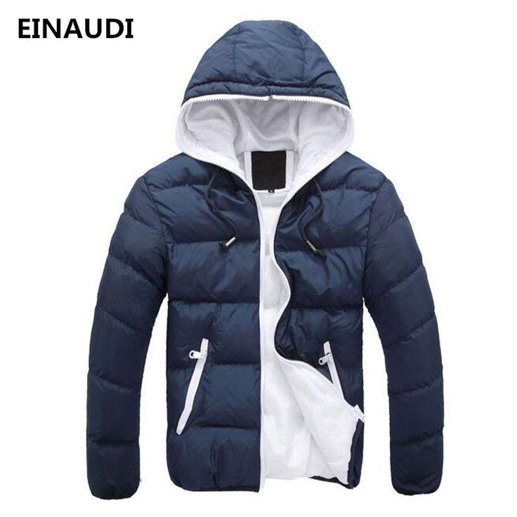 EINAUDI New Men's Winter Jacket Fashion Autumn Warm Brand Jacket Men Overcoat Men's College Coat Jacket Men  comfortable  Jacket