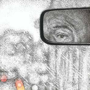 Nagroda Dziekana Wydziału Sztuki AJD w Częstochowie Marzena Rakoniewska - Gierałtowice, Poland W drodze, tusz, akwarela, 10x10 cm