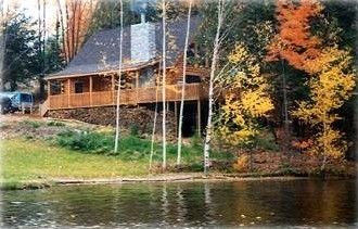Wolverine Vacation Rental - VRBO 32827 - 4 BR Northeast Cabin in MI, Wildwood Lakefront Log Cabin Home