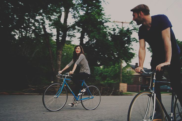 we just took an afternoon bike ride last weekend. although, we didn't look as cute as this, i'm sure.