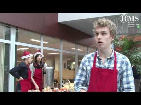 2011-12 Arrête de Mal Bouffer, association étudiante de Reims Management School, vous présenter Le marché de Noël !