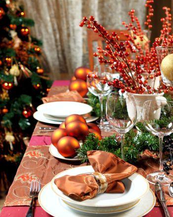 #excll #дизайнинтерьера #решения Удивите своих гостей украшением новогоднего стола