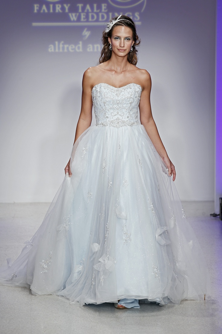 Disney fairy tale weddings by alfred angelo cinderella for Designer disney wedding dresses