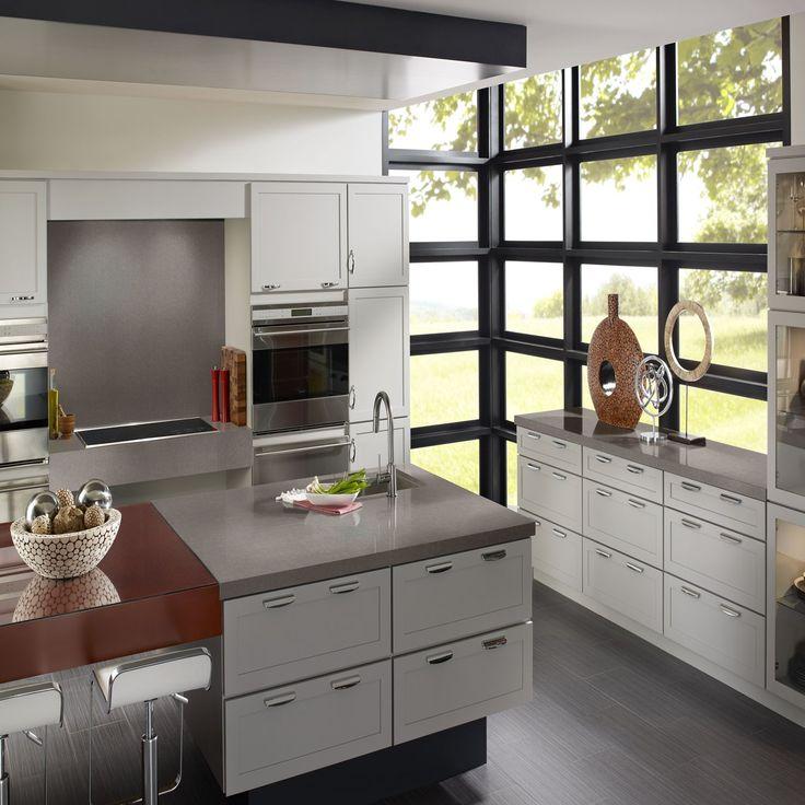 Corian #quartz Dove Grey. #WeHaveIt   Modern kitchen ...