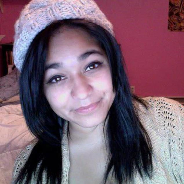 Tormented 15-year-old Felicia Garcia jumped to death in front of train after bullying over sex with football players    The Tottenville High School freshman learned that rumors of her tryst with football players had been recorded. Her final tweet spoke of despair: 'I cant, im done, I give up.'    Read more: http://www.nydailynews.com/new-york/15-year-old-throws-front-train-staten-island-article-1.1191808#ixzz2ARydl5GB