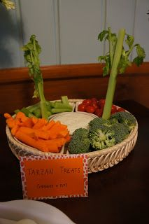 jungle food for baby shower - Google Search