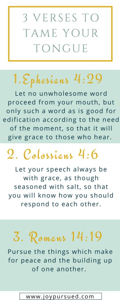 Does your tongue ever get the better of you? This post shares how praying 3 verses can help you tame your tongue. Click through to read the whole post. #prayer #bibleverses #christian