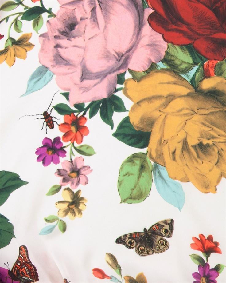 flowers + butterflies