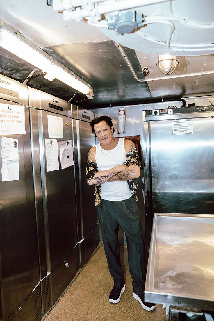 Actor Michael Madsen photographed by Kristin-Lee Moolman for #Eytys.