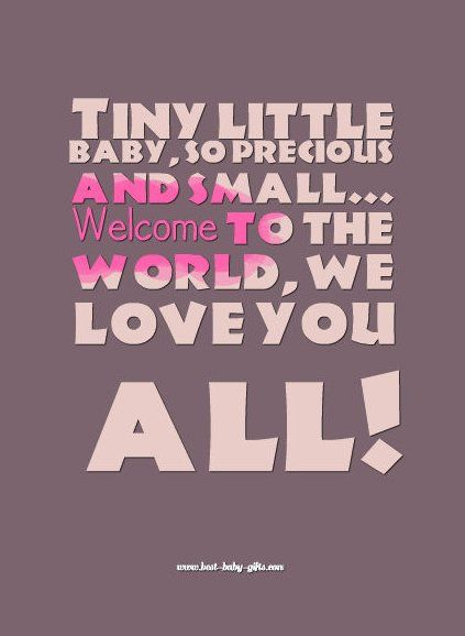 Welcoming New Born Baby Quotes - New Baby Wishes And Messages