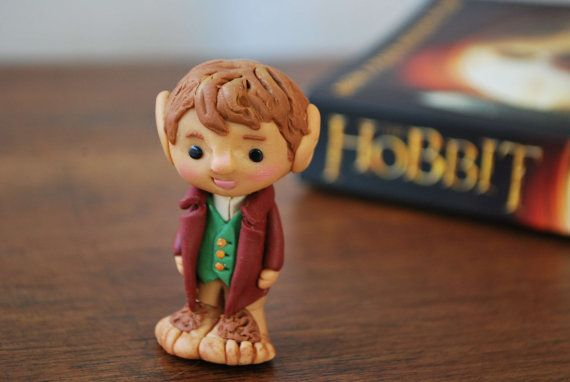 Bilbo Baggins miniature from THE HOBBIT by EliartCreations