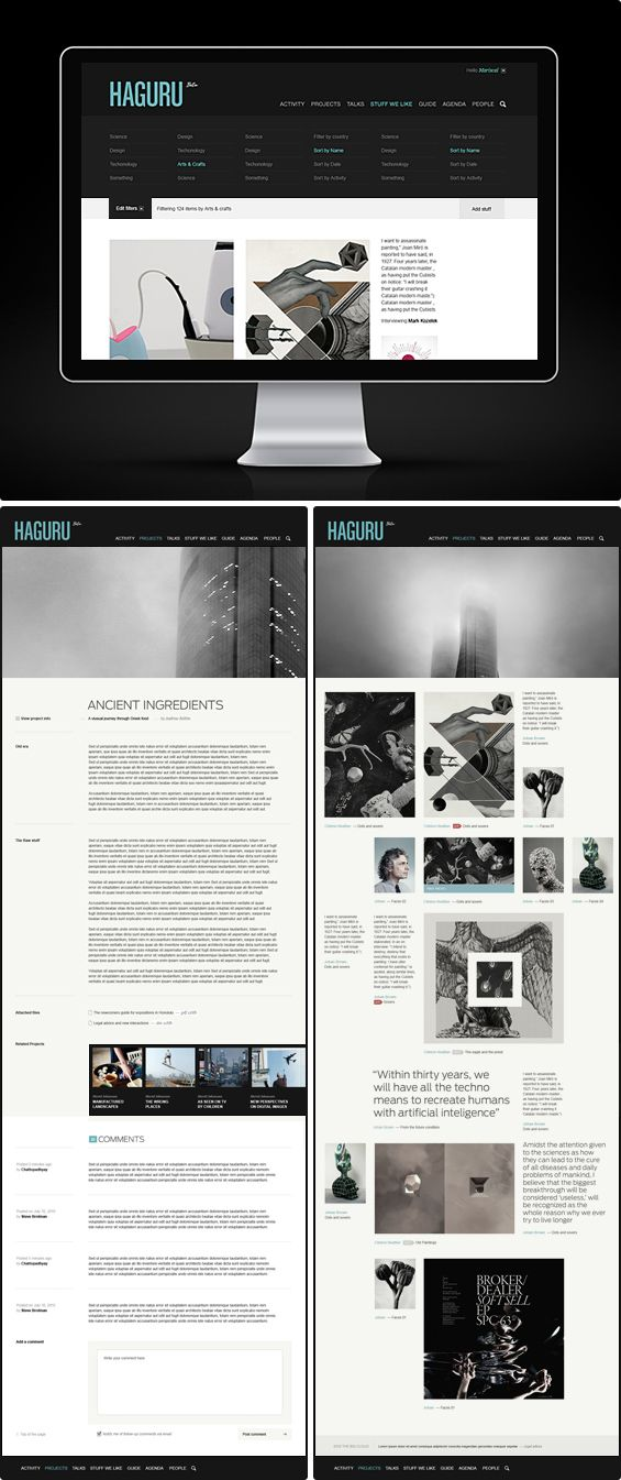 HAGURU  | #webdesign #it #web #design #layout #userinterface #website #webdesign