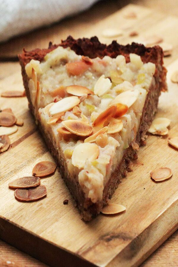Apple pie without sugar – healthy with clean eating