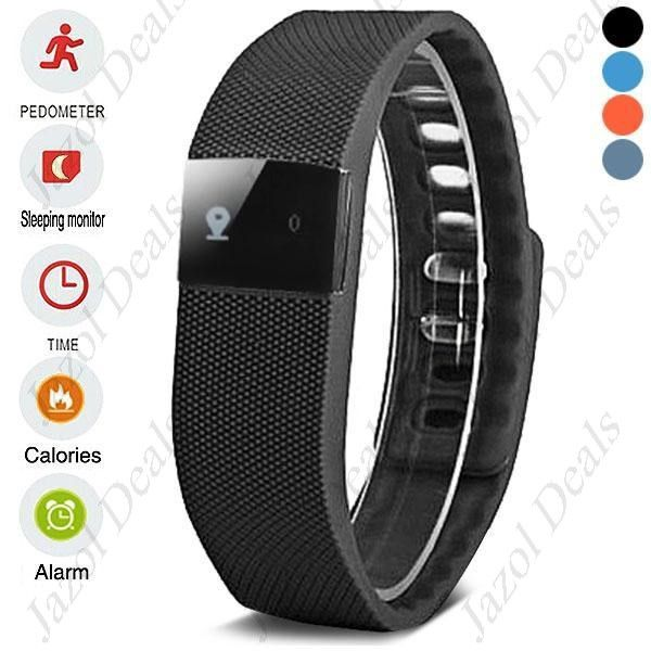TW64 Smart Fitness Wristband Bluetooth 4.0 IP67 Waterproof Health Bracelet Sports & Sleep Tracking Fitness (Price includes shipping)