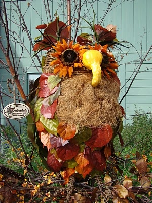 Owl Scarecrow