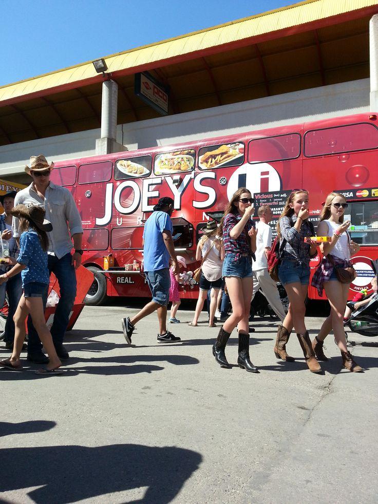 Double Decker Diner reveal @stampede2014