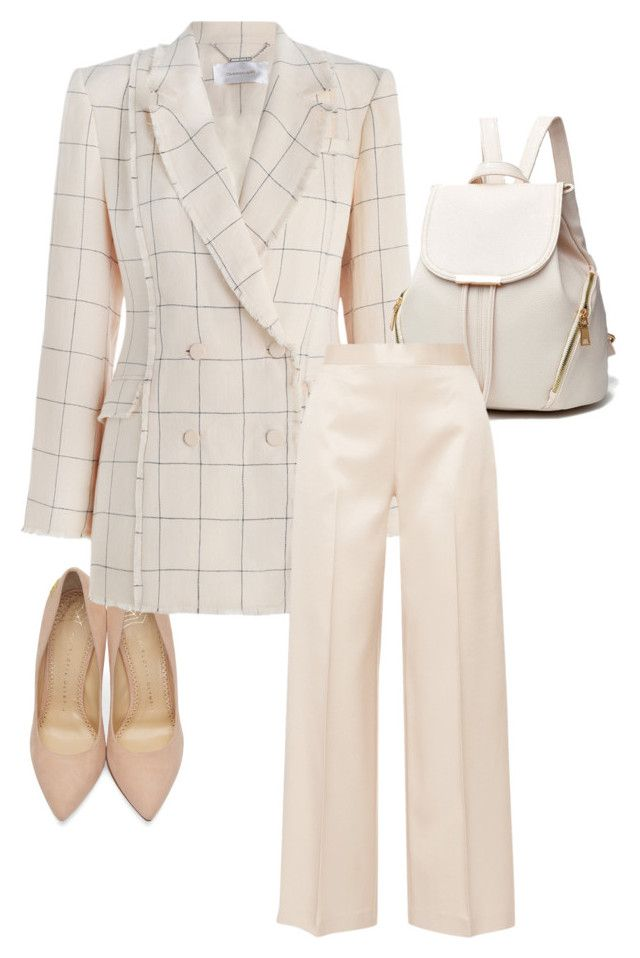"""""""Untitled #153"""" by vi-motes on Polyvore featuring Charlotte Olympia, Zimmermann and The Row"""