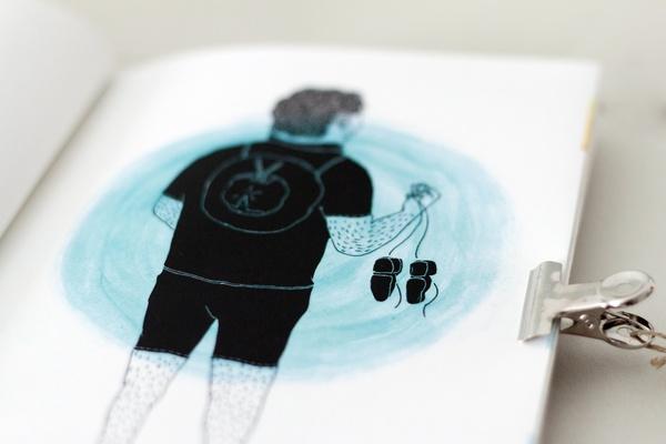 Paul is dead, An illustration book project. by Michelangelo Melandri , via Behance