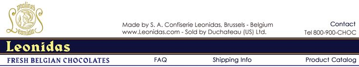 Leonidas Belgian Chocolates - delivered fresh to your doorstep throughout the US