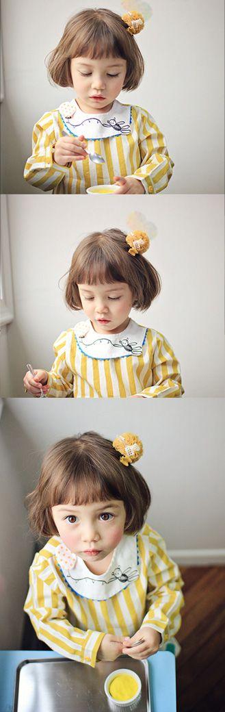Blouse 'Picormang' - vintage geel