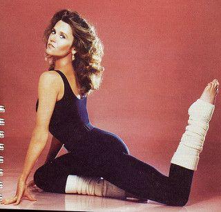 Jane Fonda workout photo