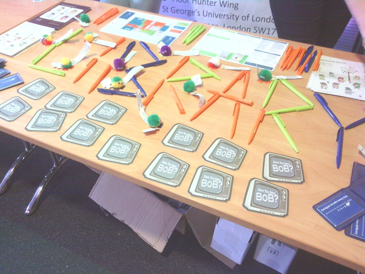 The library at Freshers Fayre