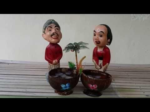 Variasi Cangkir Batok Kelapa (Variation of Coconut Shell Cups) - YouTube