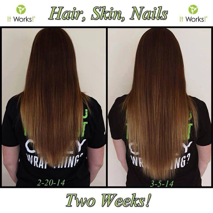 Hair Skin And Nails It Works Before And After | Hairstyle ...