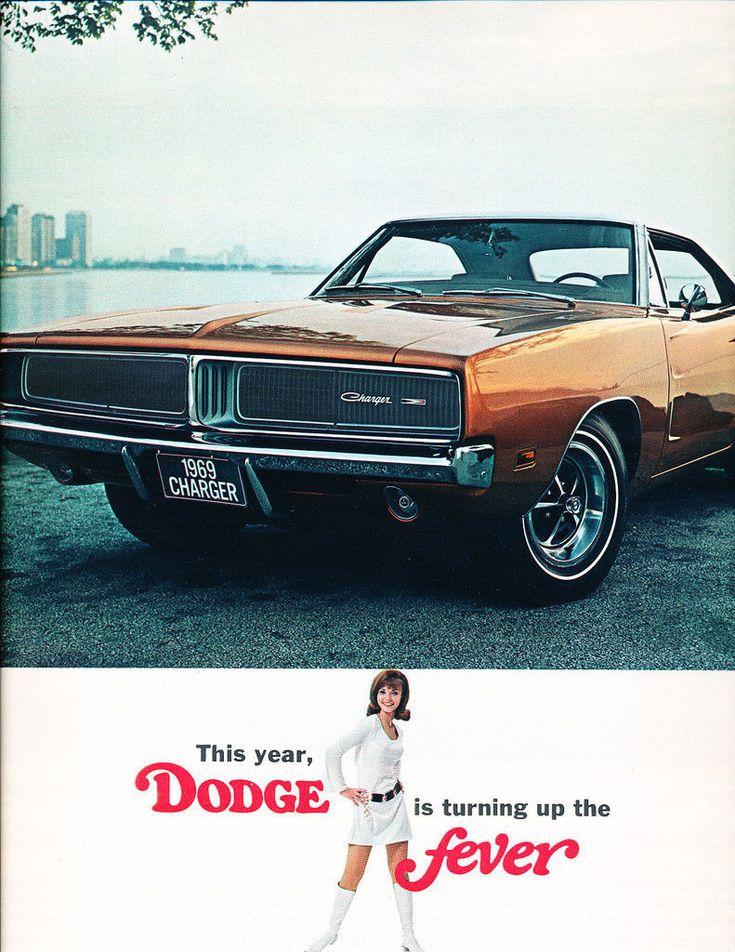 1969 Dodge Dart Coronet Charger Polara Monaco Original Car Sales Brochure