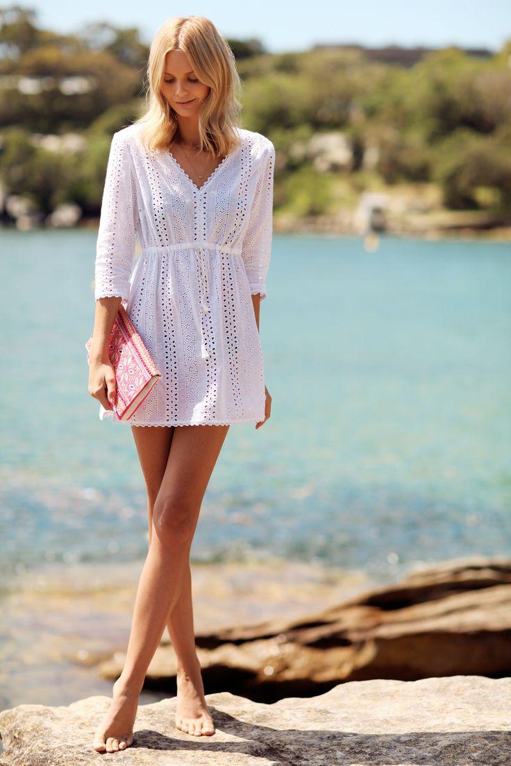 Sa Da De Praia Branca Sa Da De Praia Pinterest Vestidos De Praia Renda E Vintage