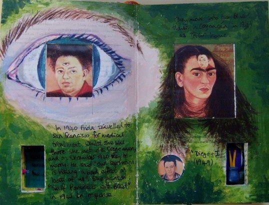 222 best Artist Frida Kahlo images on Pinterest
