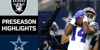 Raiders vs. Cowboys | NFL Preseason Week 3 Game Highlights