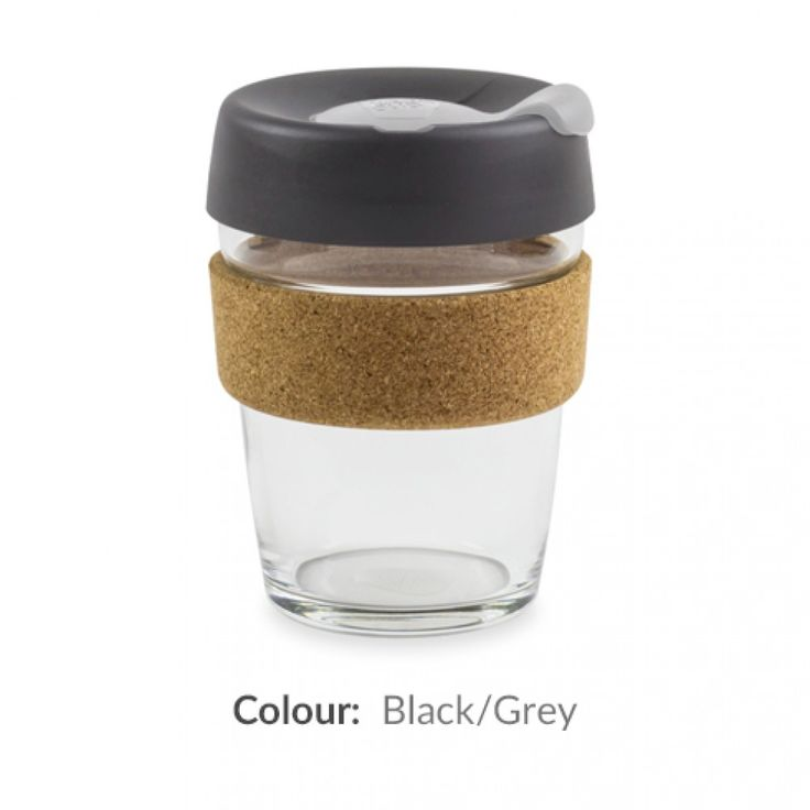 KeepCup Brew Cork Edition Reusable Coffee Cups | KeepCups are created to be standard Barista sizes, so you can take these to your favourite coffee shop & have your drink without the disposable cup.