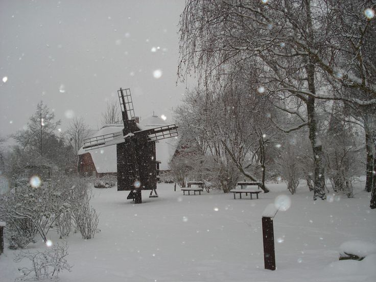 Winter am Friesenmuseum in Wyk