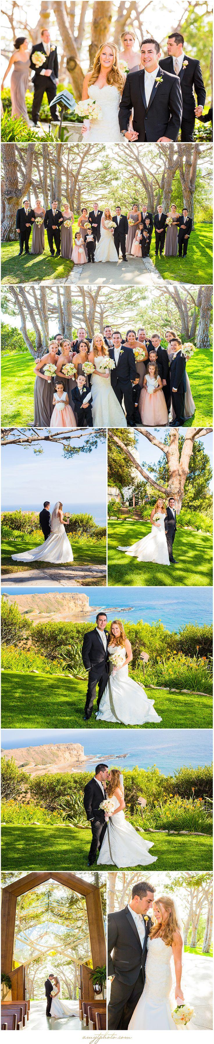 Amy Theilig Photographic | Wayfarers Chapel + La Venta Inn Wedding | Breanne…