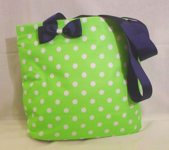 Lunch Bag Zielona w zaradna na DaWanda.com