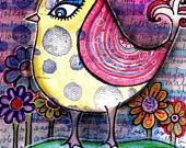 I Feel Pretty Bird - Robin Mead