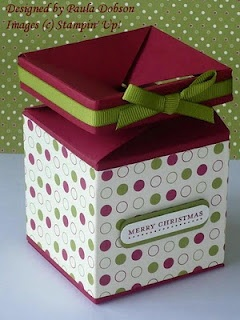 Several tutorials, bow making, quilt card, impossible box, etc...