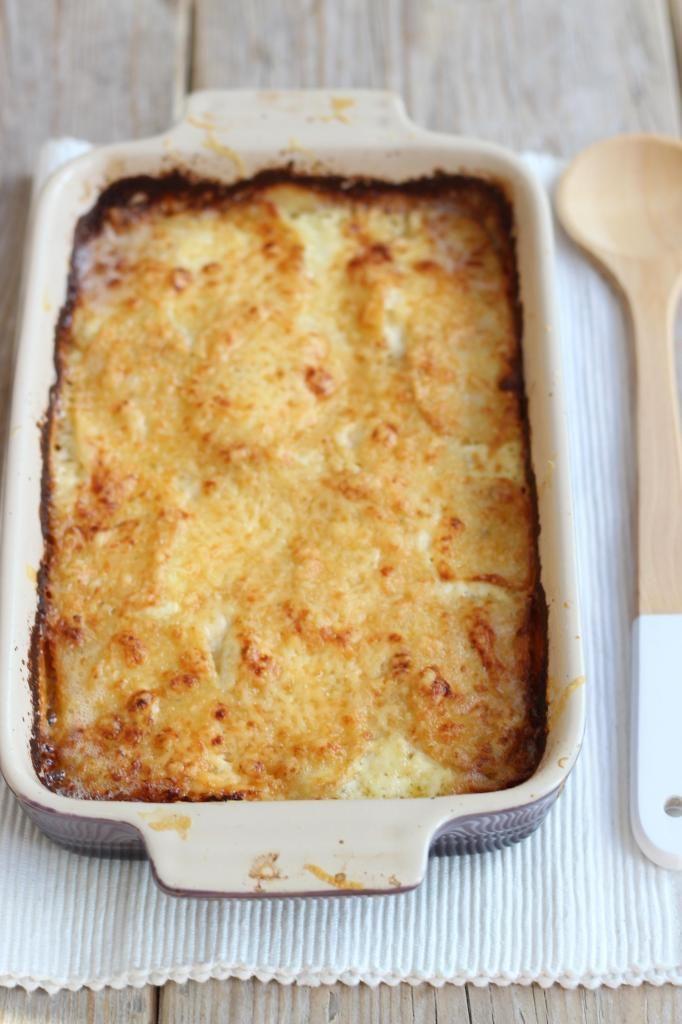 Romige ovenschotel met zalm en aardappel - Lekker en Simpel