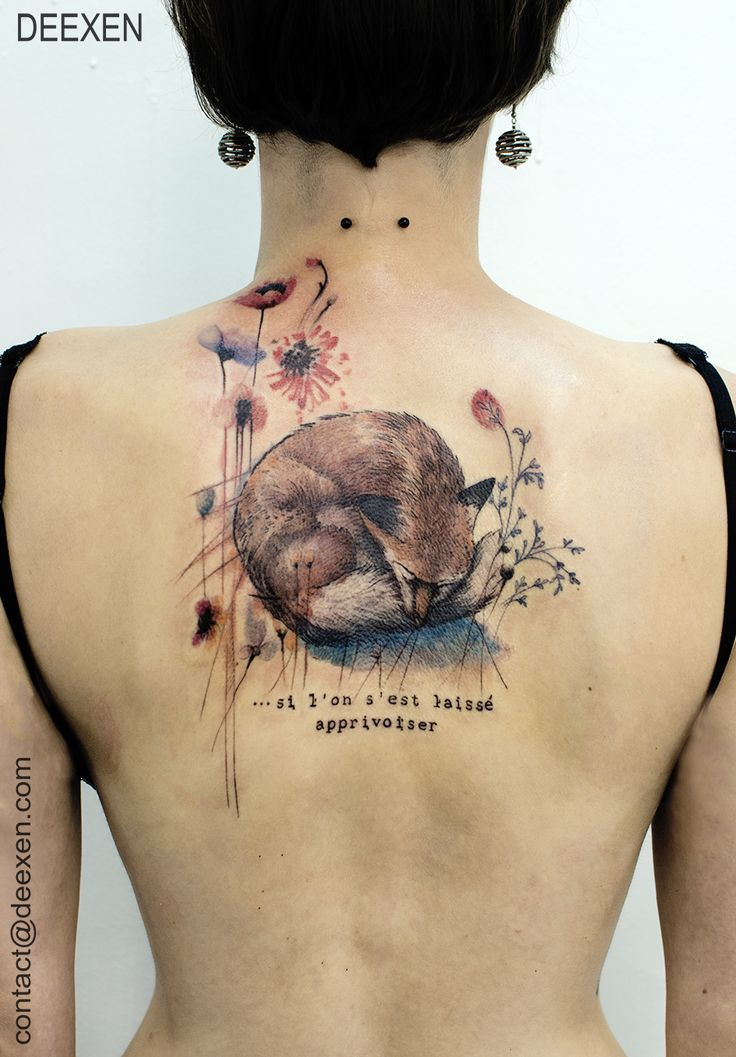 fox nebula tattoo - photo #37