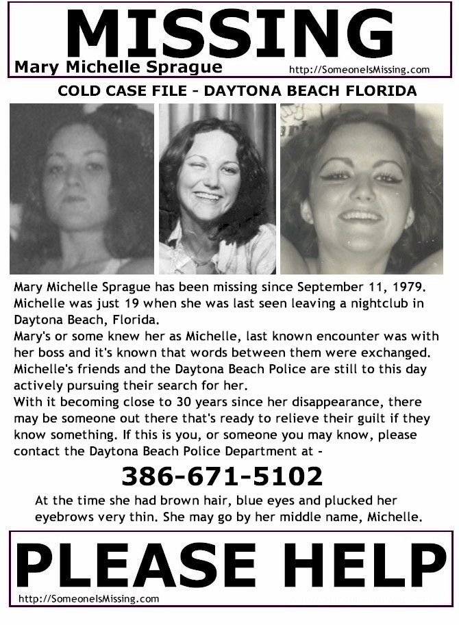 114 best Florida Missing \ Unidentified Persons images on - missing poster generator
