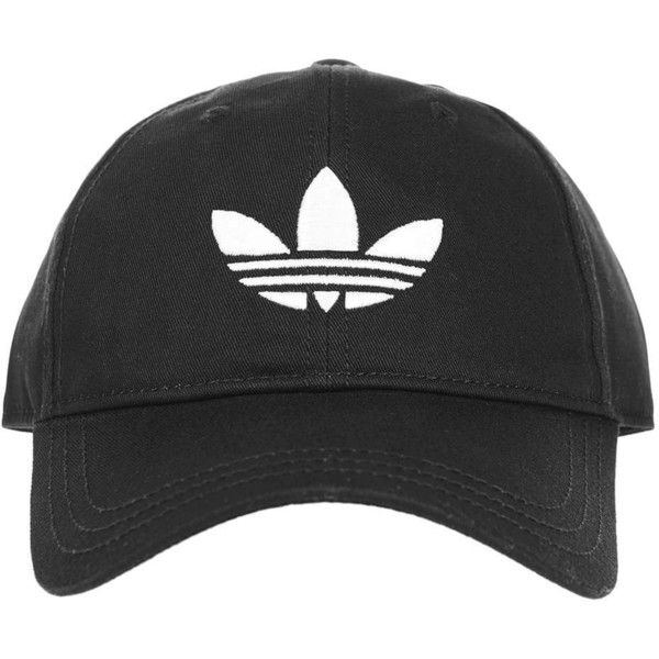 Trefoil Cap by Adidas Originals (€17) ❤ liked on Polyvore featuring accessories, hats, adidas, acc, cotton hat, cotton cap, topshop hats and cap hats