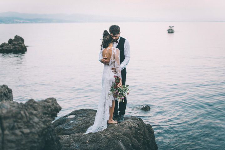 Lara and Filip�s Bohemian Wedding in Beautiful Croatia, by Viktor Pravdica Photography