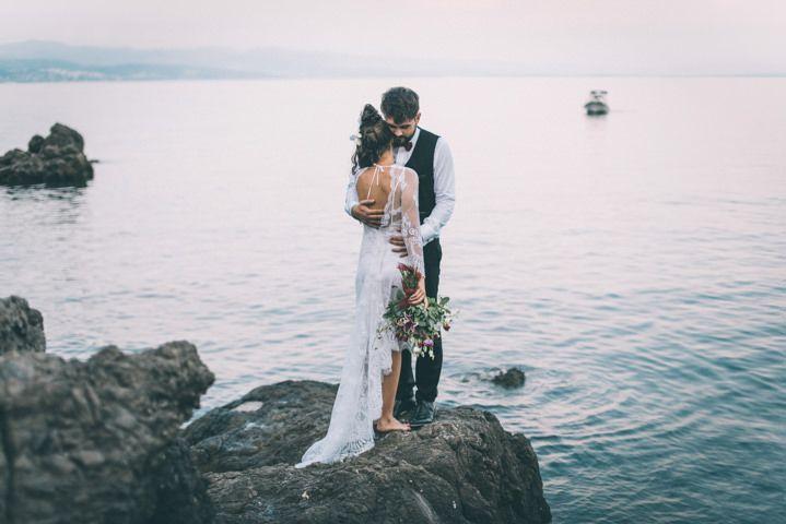 Lara and Filip's Bohemian Wedding in Beautiful Croatia, by Viktor Pravdica Photography