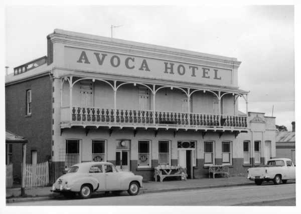 The Avoca Hotel in Avoca, Victoria http://www.theavocahotel.com.au/index.html