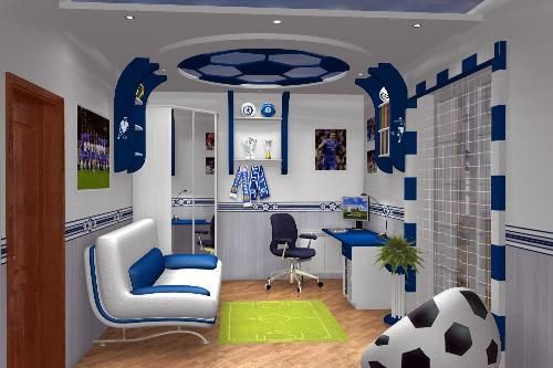 Teens Room Decor! If I was a boy, I would be dying for this room!