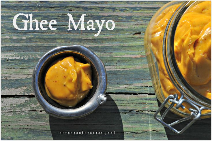 Featured recipe on Chris Kresser's weekly round up!!! Don't love the bitter taste of olive oil homemade mayo? Here is a clever recipe - You can make mayo with ghee!! It is a very tasty buttery spread! Ghee Mayo via Homemade Mommy