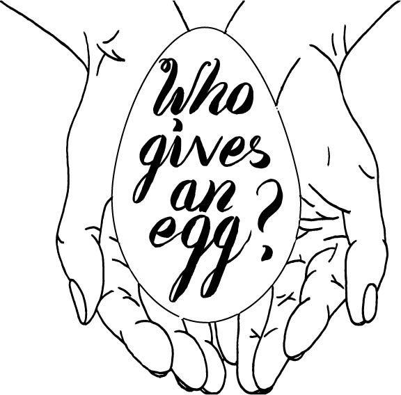 New logo for egg donation blog www.whogivesanegg.org
