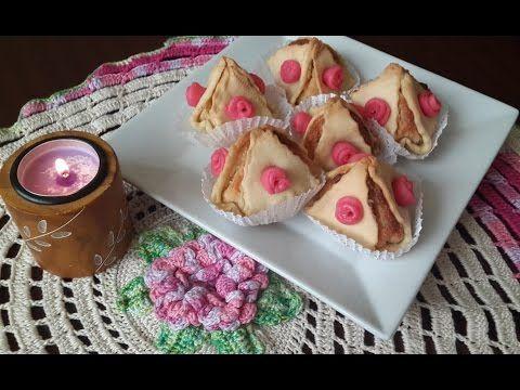 Gateau traditionnel Algerien Couronnes aux amandes/Crown with almonds/حلوة التاج باللوز - YouTube