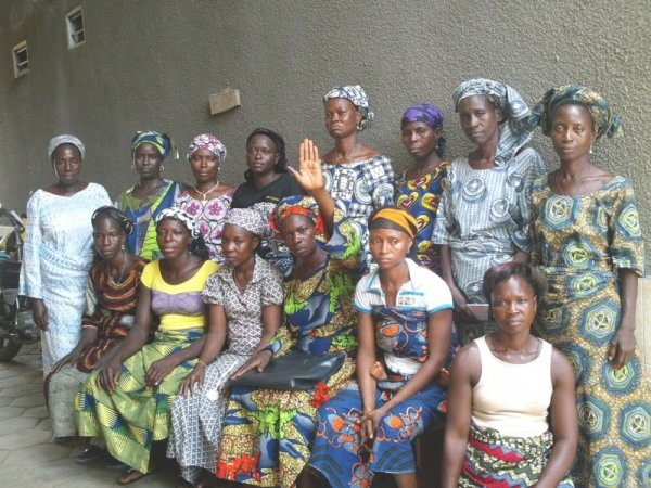 Le micro crédit solidaire pour un groupe de femmes du Benin.
